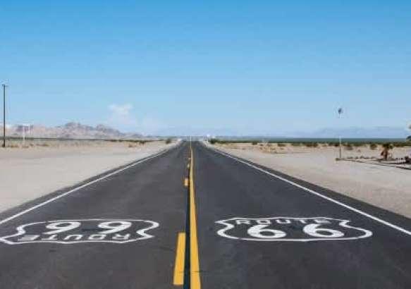 Долгая дорога - шоссе 66.