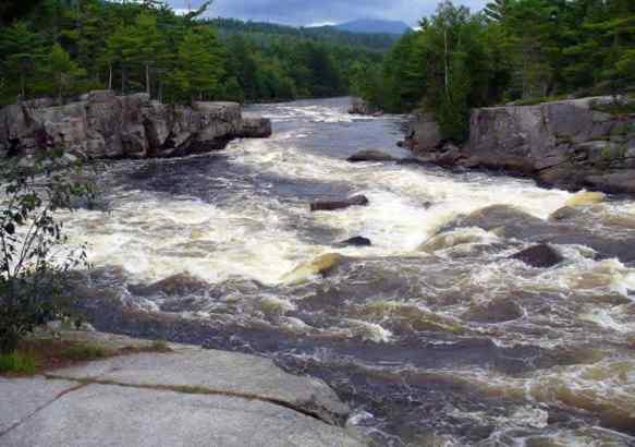 Река Пенобскот, штат Мэн.