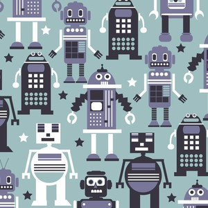 (Maude Asbury) Planet Buzz, Autobots in Light Blue