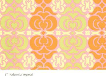 Amy Butler Midwest Modern Garden Maze in Pink