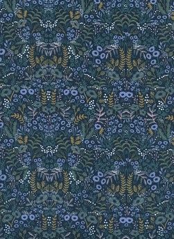 8031-1 - (Rifle Paper Co) Menagerie, Tapestry in Navy