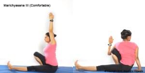 Marichyasana 3 (comfortable) Steps