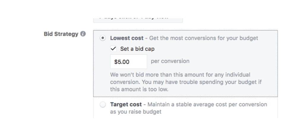facebook ad lowest cost
