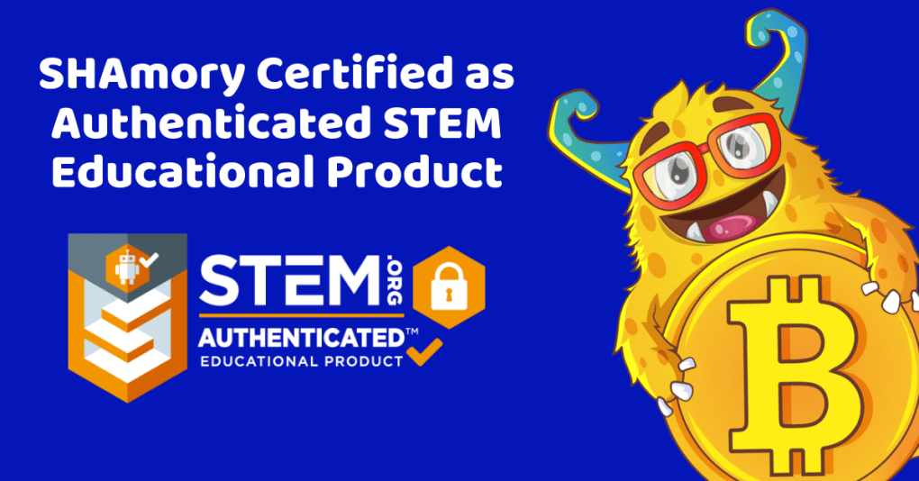 SHAmory receives STEM educational product authentication