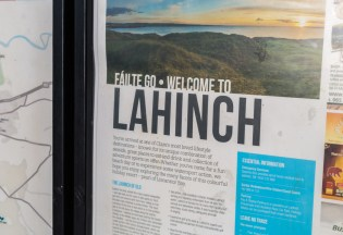 Willkommen in Lahinch | Welcome to Lahinch