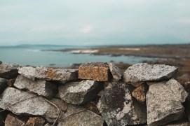 Steinmauern wohin das Auge reicht   Stone didges as far as the eye can see
