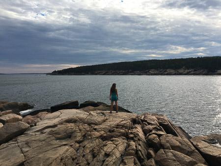 lauren on shore