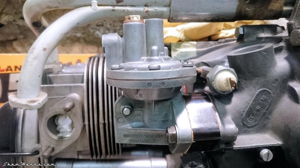 medium resolution of  rebuilt vw beetle 36hp fuel pump