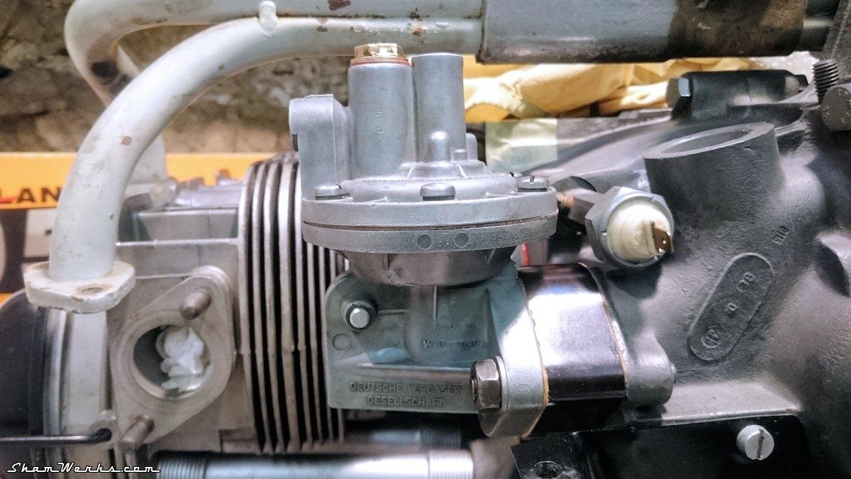 hight resolution of  rebuilt vw beetle 36hp fuel pump