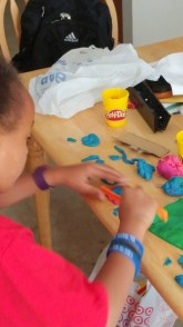 Creating Subway Surfers Track with Play-doh