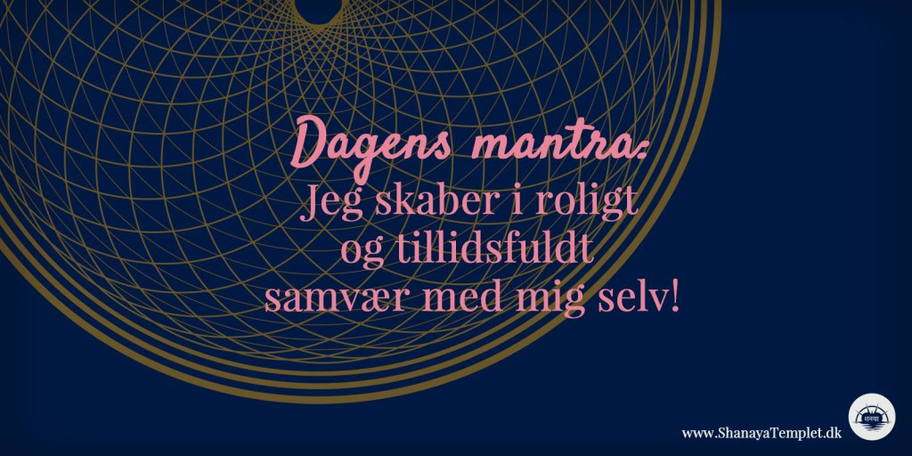 dagens mantra 11. august 2020