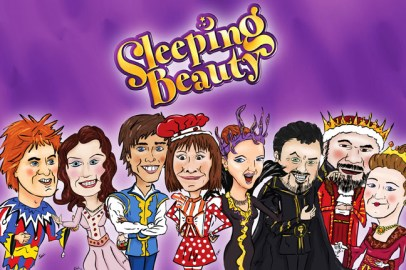 King's Panto cast gifts