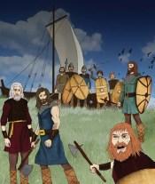 'Telling Scotland's Story' book illustration