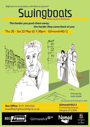 'Swingboats' poster illustration