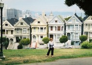 The Painted Ladies and Me in San Francisco