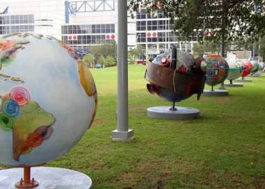 Cool Globes Houston, 2009