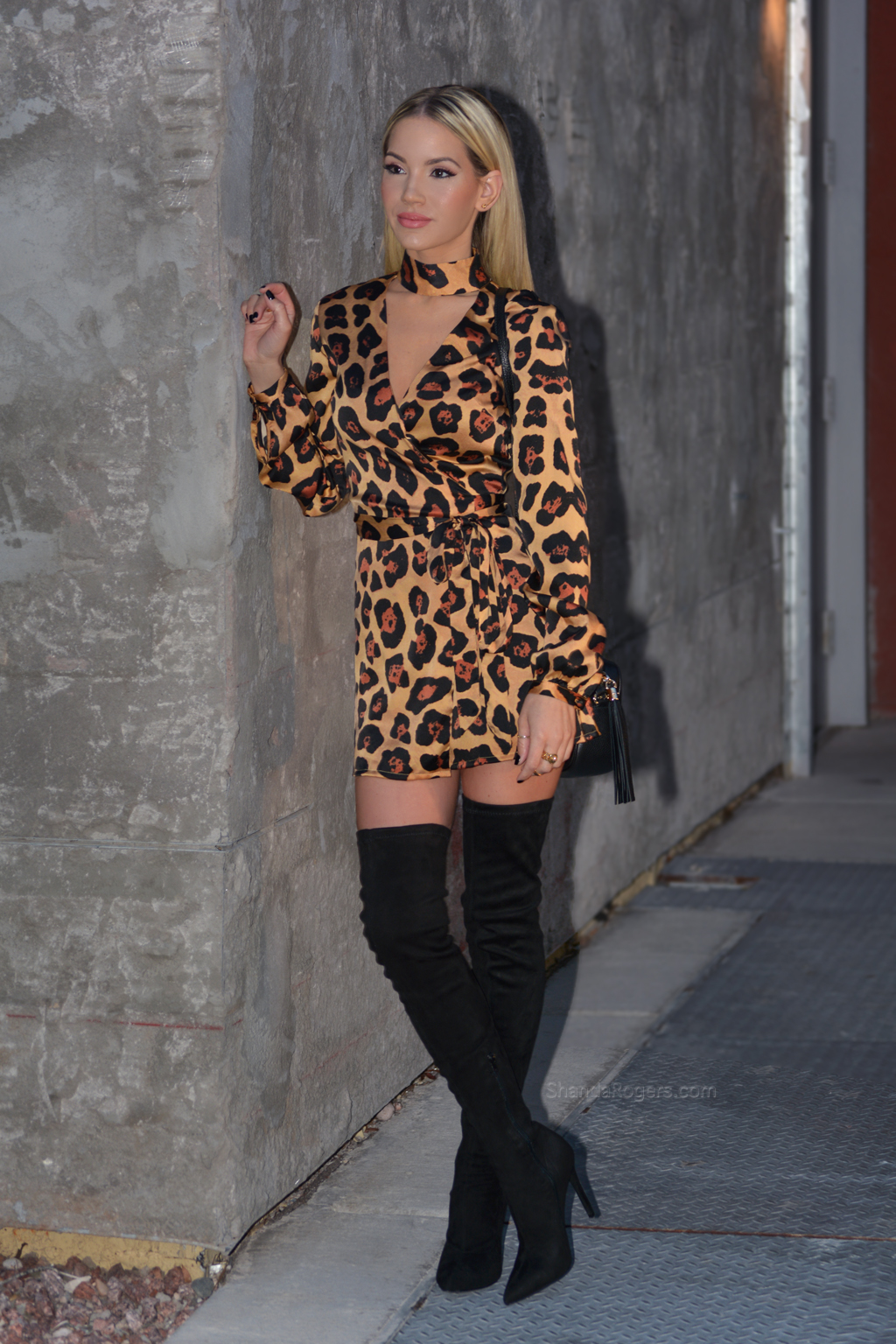Leopard & Suede