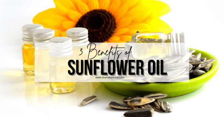 3 Benefits of Sunflower🌻 Oil as a Moisturiser