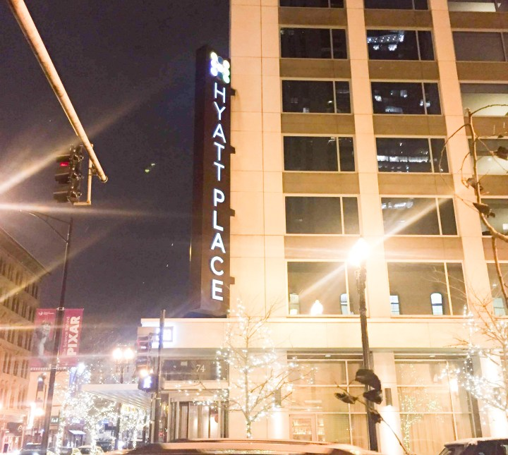 Hyatt place river north review