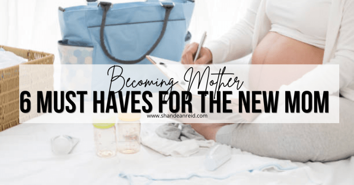 6 Must-Haves for the New Mom