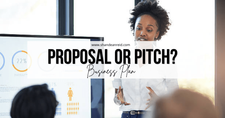 Business Plan, Proposal or Pitch (Presentation)