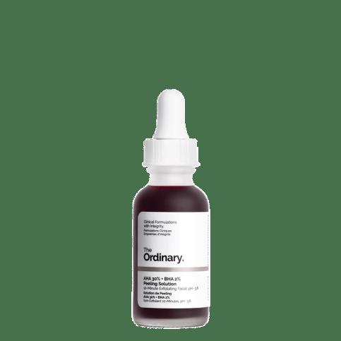 The Ordinary AHA 30% + BHA 2% Peeling Solution Review