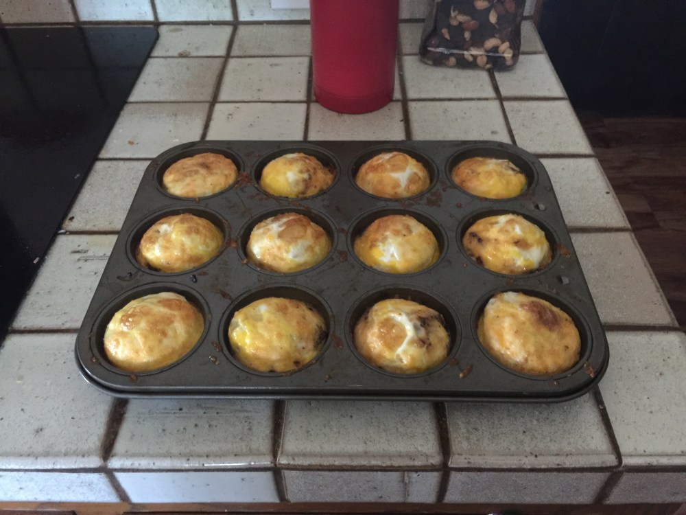 Bacon and Cheese Egg Cups