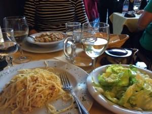 Another fantastic dinner, this time at Santa Maria Novella plaza.