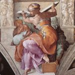 The Libyan Sibyl from the Sistine Chapel.