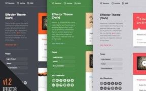 Effector Tumblr Theme