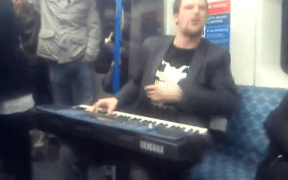 Subway Musician Amazes Commuters
