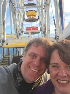 Shane and Elly Santa Monica Pier