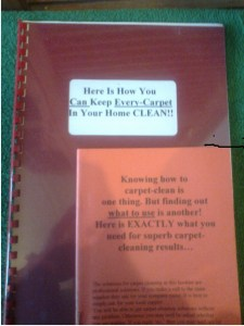 DIY carpet cleaning guidebook