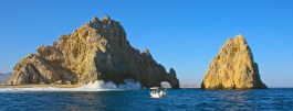 At the very tip of the Baja Peninsula.