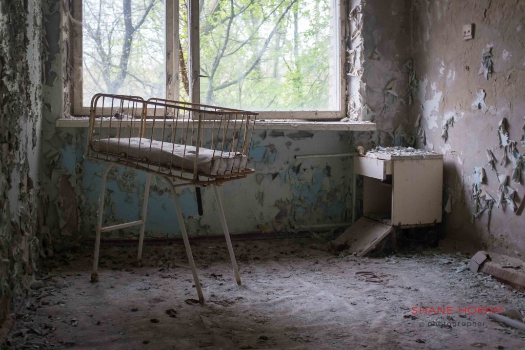 The hospital, Pripyat, Chernobyl, Ukraine