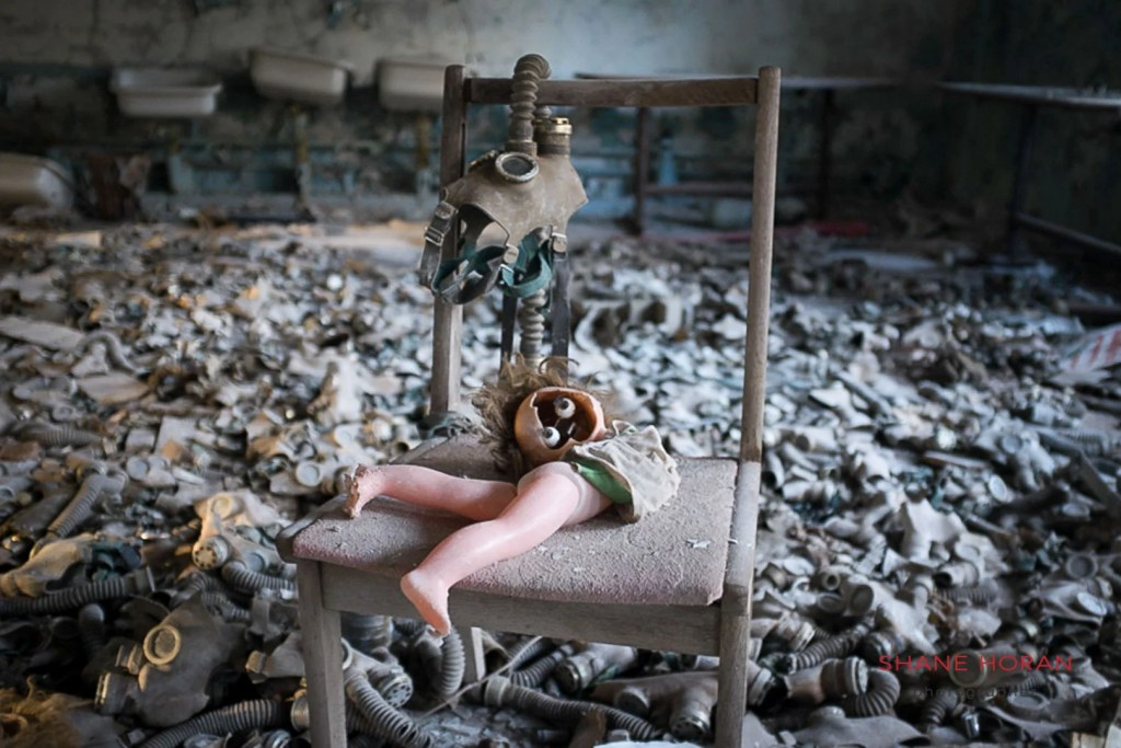 The School, Pripyat, Chernobyl, Ukraine