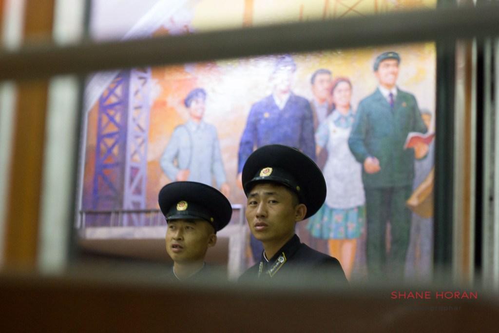 Metro conductors, Pyongyang, North Korea