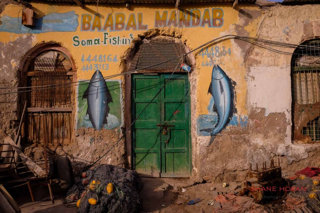 Typical store front in Berbera, Somaliland
