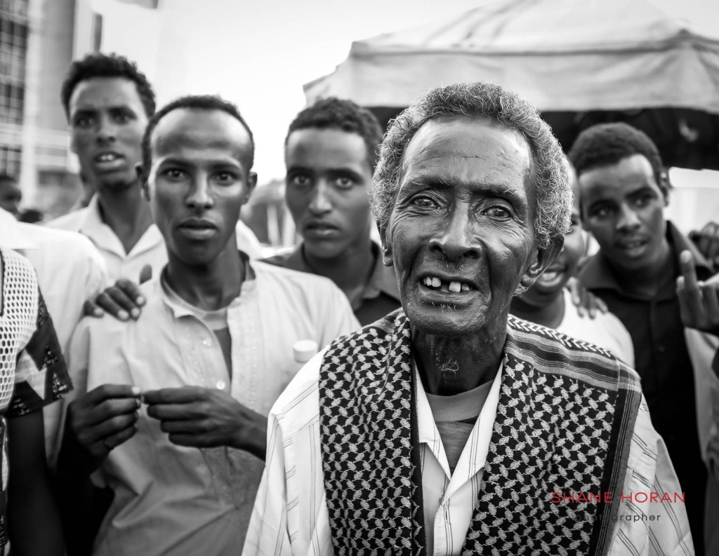 Locals in Hargeisa, Somaliland.