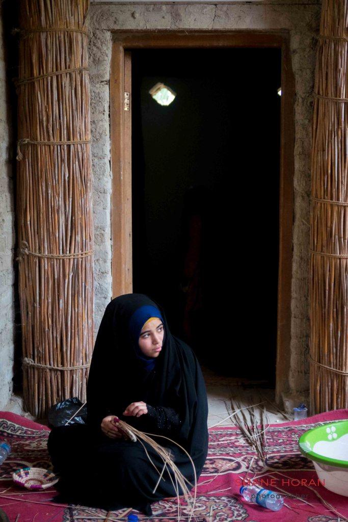 Basket weaving, Southern Marshlands, Iraq