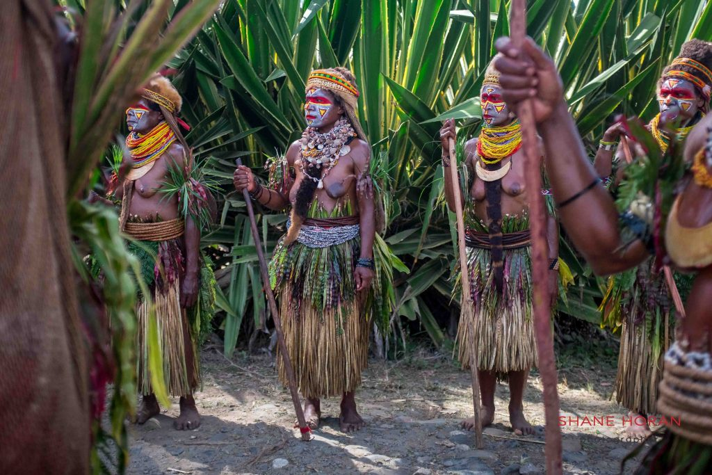 At the Mount Hagen festical, Papua new guinea