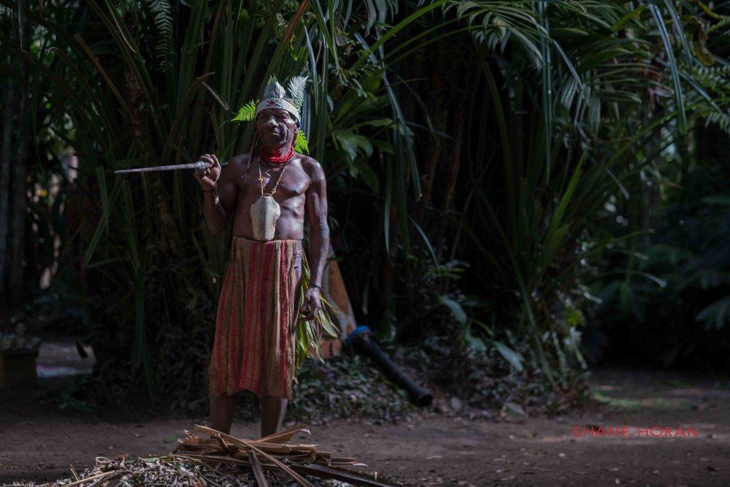Local man in Papua New Guinea