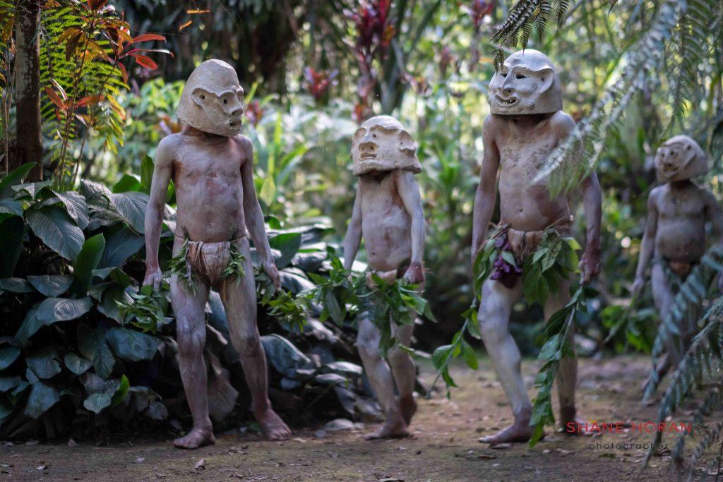 Mud Men in central Papua New Guinea