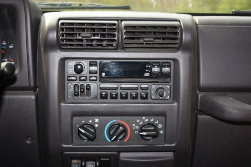 small resolution of upgrading a 2001 jeep wrangler stereo