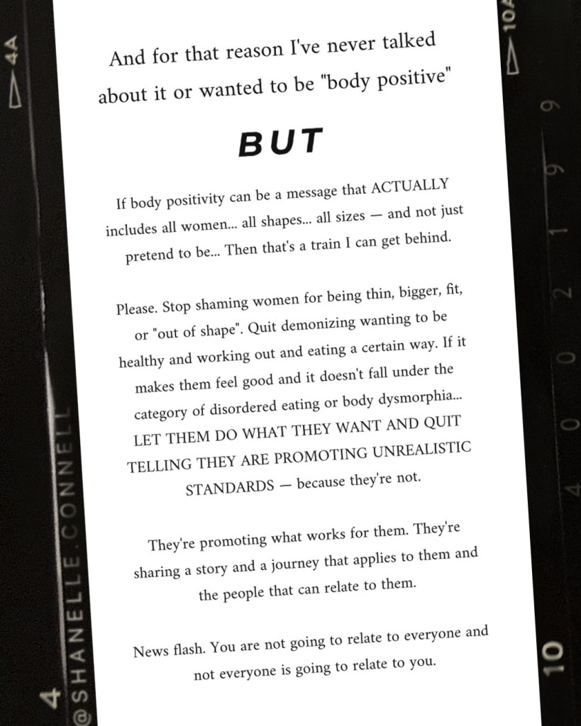Hey Body Positivity. Can We Not? Aka... Is Body Positivity ...