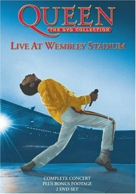 Queen Live at Wembley Stadium (1986) – DVD
