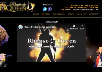 Rhapsody Queen – UK Queen Tribute Band