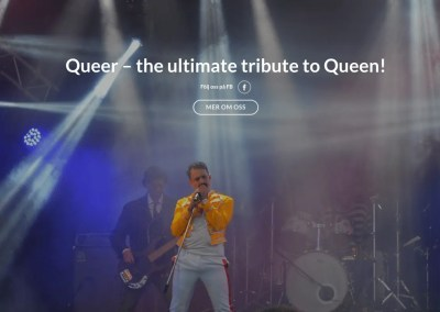 Queer – Swedish Queen Tribute Band