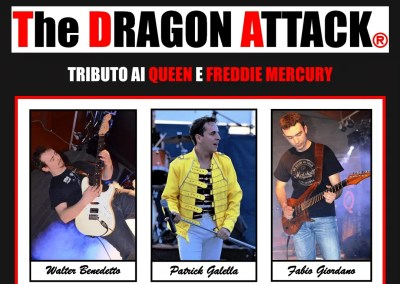 The Dragon Attack – Italian Queen Tribute Band