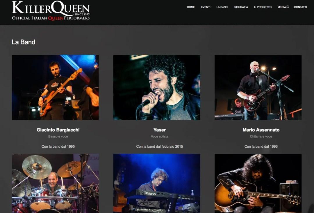 Killer Queen Italia - Italian Queen Tribute Band - Shane's